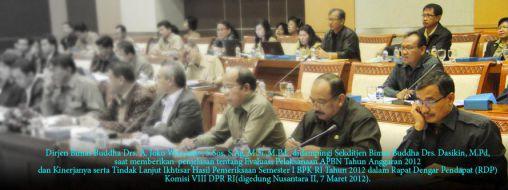 Rapat Dengar Pendapat Komisi VIII 7 Maret 2013