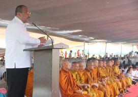 Puja Bakti Waisak 2557/2013 di Pelataran Candi Jiwa dan Blandongan Jawa Barat