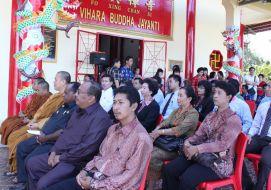 Peletakan Batu Pertama Pembangunan Dhamma Sekha Buddha Jayanti, Sorong-Papua Barat
