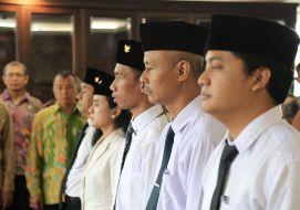 Pelantikan, Promosi dan Mutasi Pejabat Eselon IV, Arsiparis, dan Pengangkatan Dosen STABN Sriwijaya.