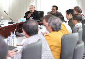Rapat dengan majelis terkait pembentukan Lembaga Dana Paramita