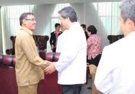 Audiensi  Pengurus Pusat Majelis Buddhayana Indonesia (MBI)