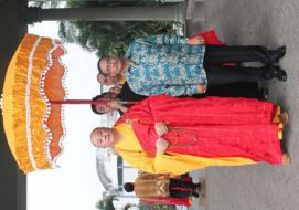 Perayaan Waisak 2558 BE Sangha Mahayana Indonesia