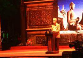 Seremonial dan Detik-detik Waisak 2558 BE di Candi Borobudur