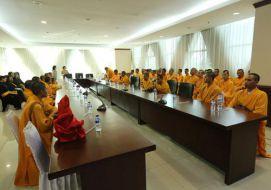 Kunjungan Pelatihan Pabajja dan Atthangasila/pa kuan cai SMTI