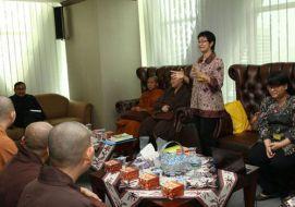 Audiensi Pengurus Sangha Bhikkhuni (SAGIN) dan Pengurus Wanita Buddhis Indonesia (WBI) Juni 2014