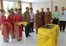 Peresmian Sekolah Dhammasekha Jinna Dharma Sradha Gunung Kidul D.I Yogyakarta