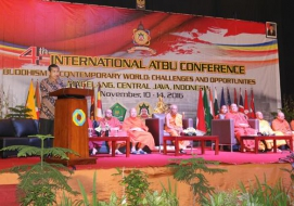 4th  Internasional Konferensi ATBU  Resmi ditutup Oleh  Direktur Urusan dan Pendidikan Agama Buddha