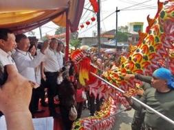 Turut memeriahkan Cap Go Meh, Barongsai TNI AD Usung Pemain Berbagai Agama