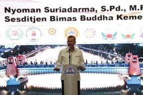 Ditjen Bimas Buddha Harapkan Walubi Dalam Pengelolaan Pembinaan Umat
