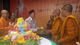 Peringatan 60 Sagin, Menag: Hargai Sagin Hargai Bhikksu Ashin