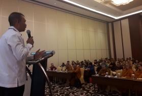 Buka Musyawarah Penyelenggara Pendidikan Keagamaan Buddha, Nyoman : Bina Keterampilan Generasi Muda