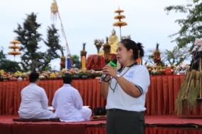 Perayaan Waisak Bukit Siguntang, Yayuk :Bangga Beragama Buddha Bangga Bernusantara