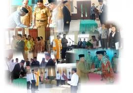 Pasca Pejabat Purna Tugas Bimas Buddha Lakukan Promosi dan Mutasi Jabatan Administrator