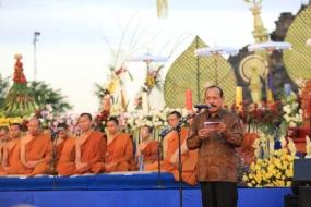 Hadiri Asalha Mahapuja, Caliadi ajak Pelajari Manuskrip Nusantara