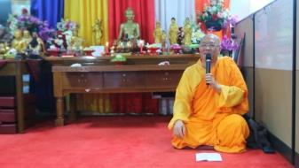 Sambut HUT RI ke-74, Ditjen Bimas Buddha Adakan Puja Bakti Kemerdekaan