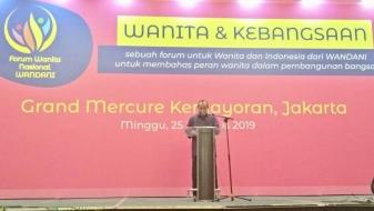 Buka Forum Nasional WANDANI, Caliadi Harapkan Wanita Jadi Agen Moderasi Beragama