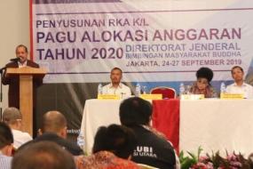 Susun RKA KL 2020, Caliadi: Berikan Perhatian Seimbang