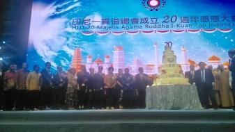 20 Tahun Majelis I Kuan Tao, Caliadi Ajak Bersinergi Program dan Layanan