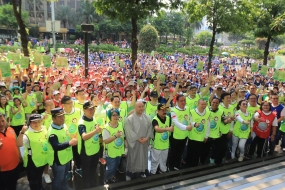 Gelar Aksi Bersih Sampah Plastik Umat Buddha Wujudkan Tanggung Jawab Lingkungan