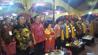 Perayaan 111 Tahun Kui Thian Hian De, Caliadi: Tingkatkan Semangat Persatuan dan Kesatuan Bangsa