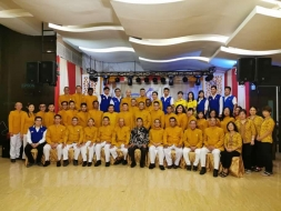 Perayaan HUT 43 PD Magabudhi Sumut, Pembimas Ajak  Solid Jalankan Program