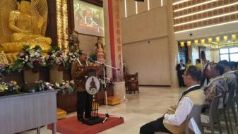 Wihara Dharma Santi Solusi Umat Deli Serdang Implementasi Moderasi Beragama