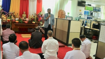 Peringatan 14 Tahun Bimas Buddha, Budi Setiawan: Jadi Stabilizer Matangkan Pelayanan