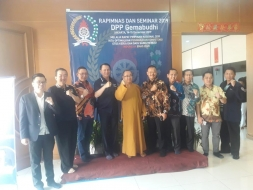 Buka Rapimnas, Nyoman Apresiasi Pembangunan SDM Gemabudhi