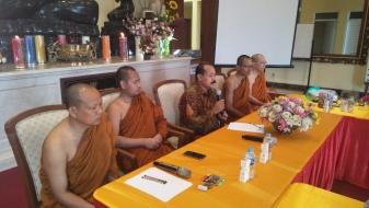 Sikapi Bhikkhu Tak Berwadah, Caliadi Contohkan SDDI Tempat Bernaung