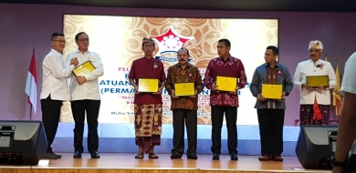 Lantik Permabudhi Bali, Caliadi: Wujudkan Perdamaian dan Kesejahteraan