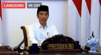 Hadapi Virus Covid-19, Jokowi: Kesabaran Titik Tolak Kesembuhan