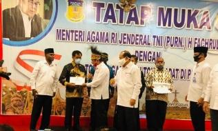 Peluncuran Program �Kita Cinta Papua 2020�, Menag Berikan Bantuan Pembangunan Rumah Ibadah.