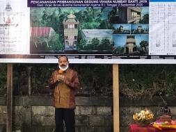 Pembangunan Vihara Numbay Jayapura, Caliadi: Apresiasi dan Siap Bantu