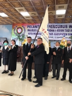 Pelantikan Majelis I Kuan Tao, Gara Buddha Pemantang Siantar Ajak Bersinergi Program dan Layanan