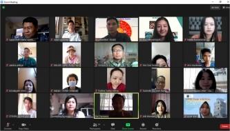 Hadiri Webinar, Suwanto: Perlu Evaluasi untuk Peningkatan Kuantitas Guru Agama Buddha