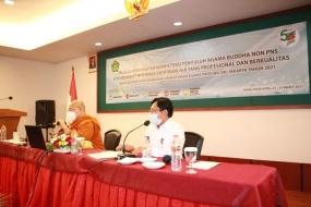 Adakan Peningkatan SDM Penyuluh Buddha Non PNS, Suwanto: Tingkatkan Kemampuan dan Kapabilitas