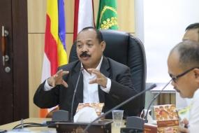 Evaluasi Pelaksanaan Anggaran Triwulan I, Caliadi: Laksanakan sesuai Aturan yang Berlaku